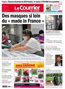 Le Courrier de l'Ouest Angers – 14 mai 2020