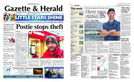 Gazette & Herald – December 14, 2017