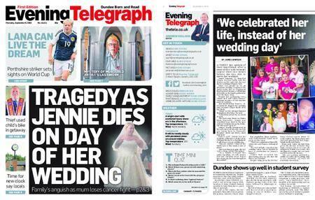Evening Telegraph First Edition – September 06, 2018