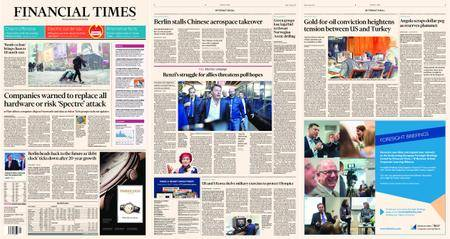 Financial Times Europe – 05 January 2018