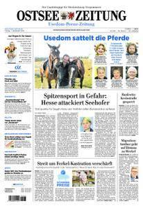 Ostsee Zeitung Wolgast - 07. September 2018