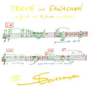 Karlheinz Stockhausen - Treue und Erwachen, 11 und 12 Stunde aus Klang (2010) {Stockhausen-Verlag No. 90}