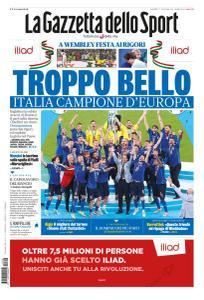 La Gazzetta dello Sport Nazionale - 12 Luglio 2021