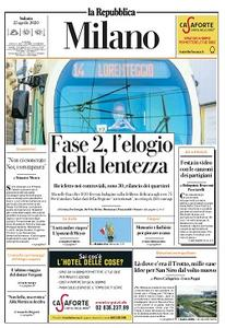 la Repubblica Milano - 25 Aprile 2020