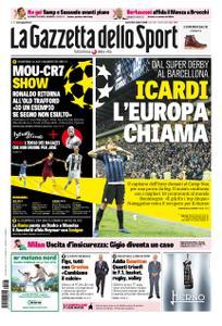 La Gazzetta dello Sport – 23 ottobre 2018
