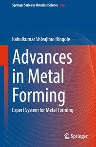 Advances in Metal Forming: Expert System for Metal Forming