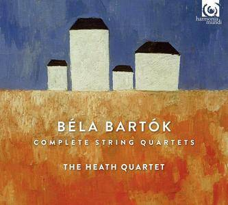 The Heath Quartet - Béla Bartók: Complete String Quartets (2017)