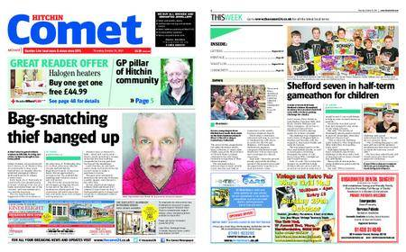 The Comet Hitchin – October 26, 2017
