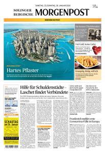Solinger Morgenpost – 25. Januar 2020