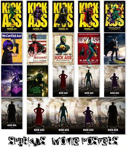 Kick Ass - Movie Posters