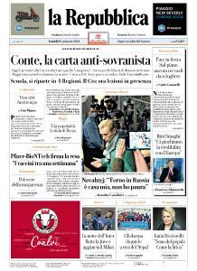 la Repubblica - 18 Gennaio 2021