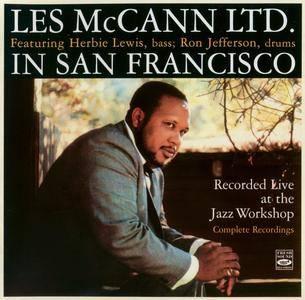Les McCann - Les McCann Ltd. in San Francisco: Recorded Live at the Jazz Workshop (1960) {Fresh Sound FSR-CD 682 rel 2012}