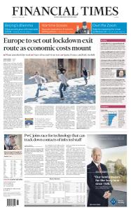 Financial Times Europe - April 27, 2020