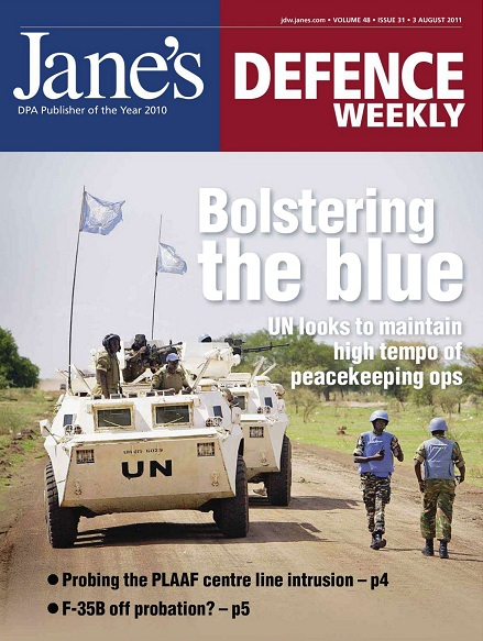 Jane's Defence Weekly - 03 August 2011