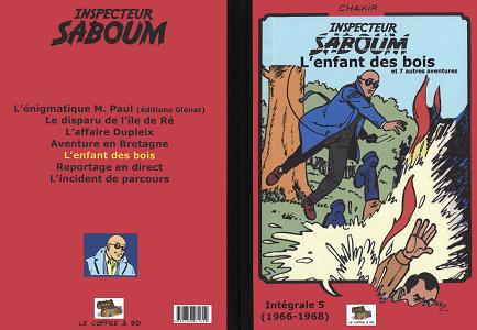 Inspecteur Saboum - Tome 5 - L'enfant des Bois