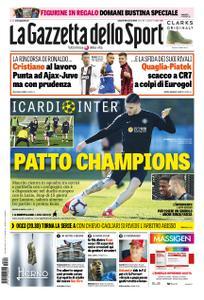 La Gazzetta dello Sport Roma – 29 marzo 2019