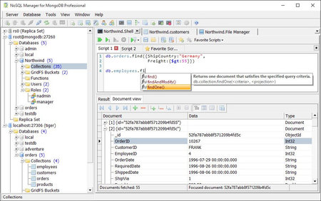 NoSQL Manager for MongoDB Pro 5.0.0.6