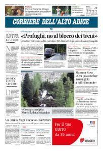 Corriere dell'Alto Adige - 3 Giugno 2018