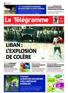 Le Télégramme Brest Abers Iroise – 09 août 2020