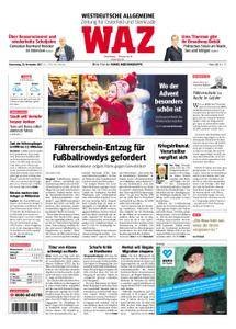 WAZ Westdeutsche Allgemeine Zeitung Oberhausen-Sterkrade - 30. November 2017