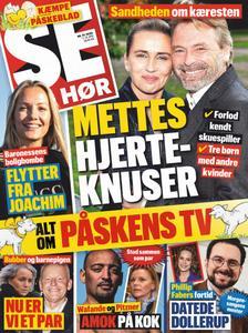 SE og HØR – 07. april 2020