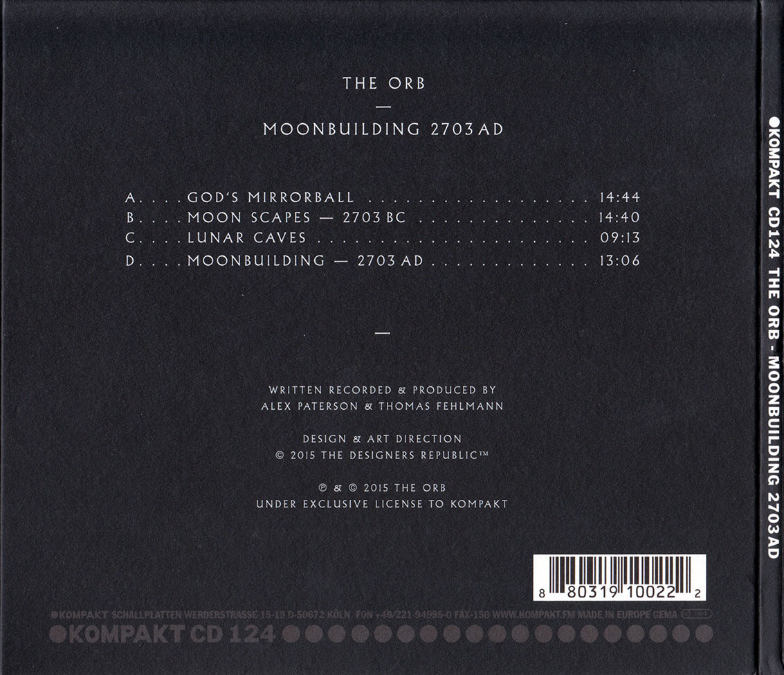 The Orb - Moonbuilding 2703 AD (2015)