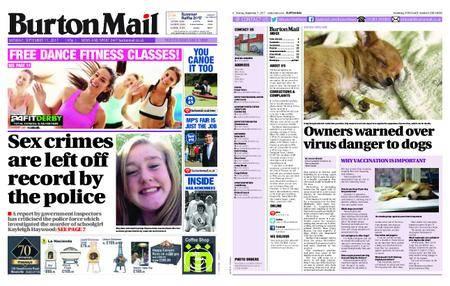 Burton Mail – September 11, 2017