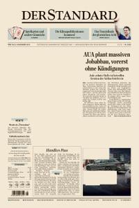 Der Standard – 08. November 2019
