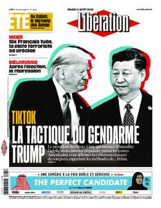 Libération - 11 août 2020