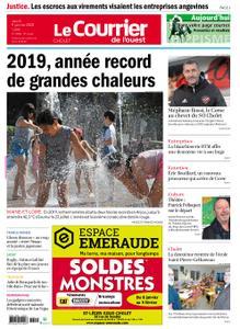 Le Courrier de l'Ouest Cholet – 09 janvier 2020