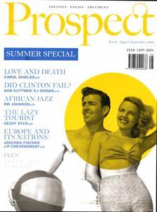 Prospect Magazine - August - September 2000