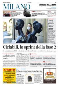 Corriere della Sera Milano – 30 aprile 2020