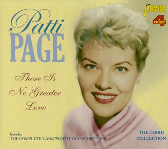 Patti PAGE - There Is No Greater Love: Includes The Complete Lang-Worth Transcriptions (4CD Box Set, 2015)