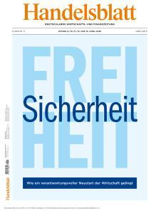 Handelsblatt - 9-13 April 2020