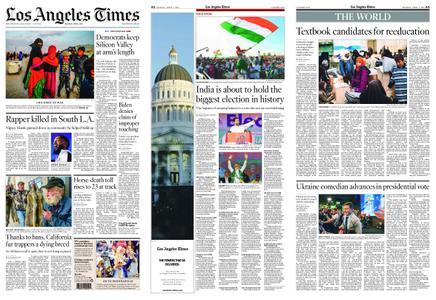 Los Angeles Times – April 01, 2019
