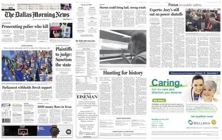 The Dallas Morning News – October 20, 2019