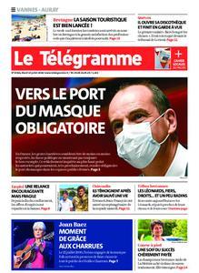 Le Télégramme Vannes – 14 juillet 2020