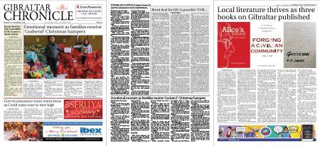 Gibraltar Chronicle – 21 December 2020