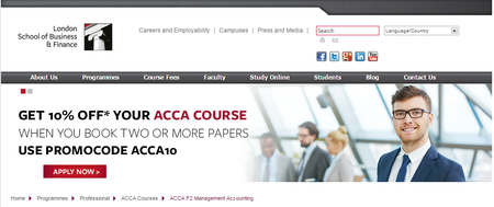 ACCA Courses - Financial Reporting, Financial Accounting, Management Accounting