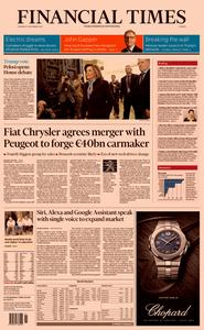 Financial Times Europe – 19 December 2019