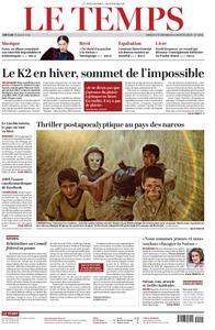 Le Temps - 05 janvier 2019