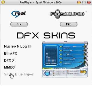 Realplayer 10.5 Gold + DFX Audio 7.3