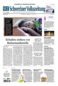 Schweriner Volkszeitung Gadebusch-Rehnaer Zeitung - 23. April 2019