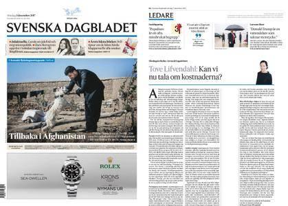 Svenska Dagbladet – 03 december 2017