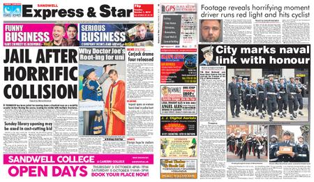 Express and Star Sandwell Edition – October 01, 2019