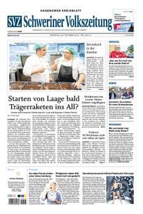 Schweriner Volkszeitung Hagenower Kreisblatt - 22. Oktober 2019