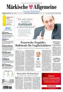 Märkische Allgemeine Zossener Rundschau - 14. Dezember 2018