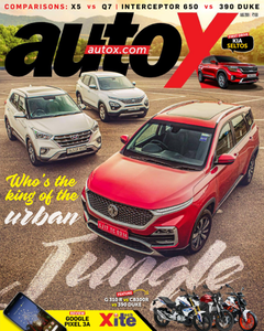 autoX - August 2019