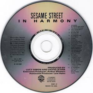 VA - In Harmony: A Sesame Street Record (1980) {Warner Bros.} **[REPOST]**