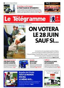 Le Télégramme Ouest Cornouaille – 23 mai 2020